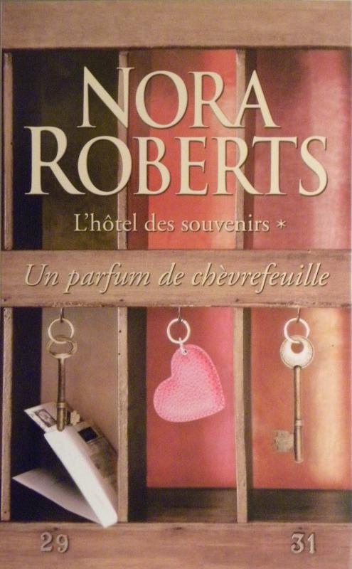 Couverture L'hôtel des souvenirs, tome 1 : Un parfum de chèvrefeuille
