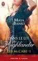 Couverture Les McCabe, tome 1 : Dans le lit du Highlander Editions J'ai Lu (Pour elle - Aventures & passions) 2014