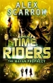 Couverture Time riders, tome 8 : La prophétie maya Editions Puffin Books 2013