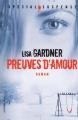 Couverture Preuves d'amour Editions France Loisirs 2013