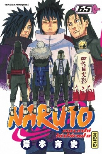 Couverture Naruto, tome 65
