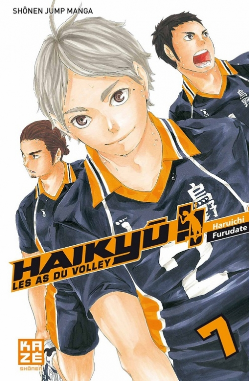 Couverture Haikyû !! : Les as du volley ball, tome 07