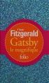 Couverture Gatsby le magnifique Editions Folio  2014