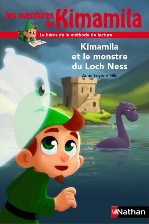 Couverture Kimamila et le monstre du Loch Ness