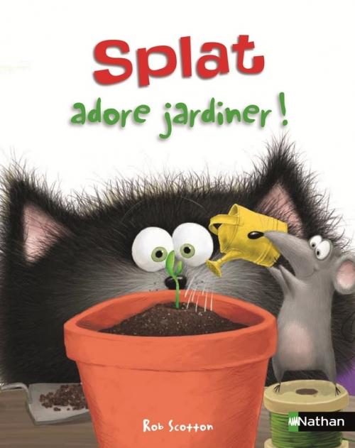 Couverture Splat adore jardiner !