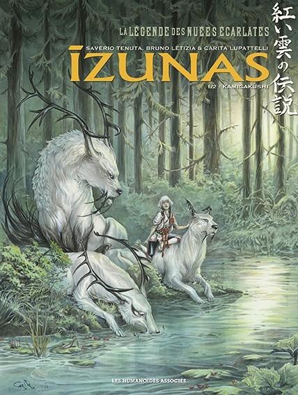 Couverture La légende des nuées écarlates : Izunas, tome 1 : Kamigakushi