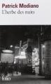 Couverture L'Herbe des nuits Editions Folio  2014