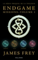 Couverture Endgame missions, tome 1 Editions Gallimard  2014