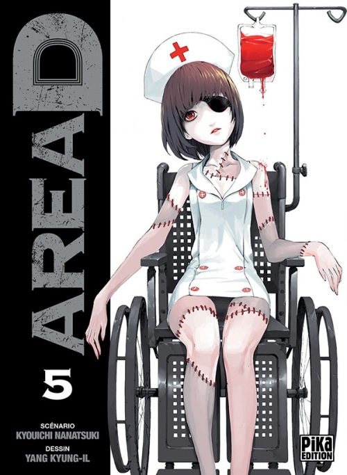 Couverture Area D, tome 05