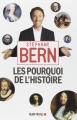 Couverture Les pourquoi de l'Histoire, tome 1 Editions Albin Michel 2014