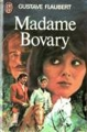 Couverture Madame Bovary Editions J'ai lu 1978