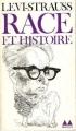 Couverture Race et histoire Editions Denoël (Médiations) 1981