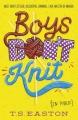 Couverture Les garçons ne tricotent pas (en public) Editions Hot Key Books 2014