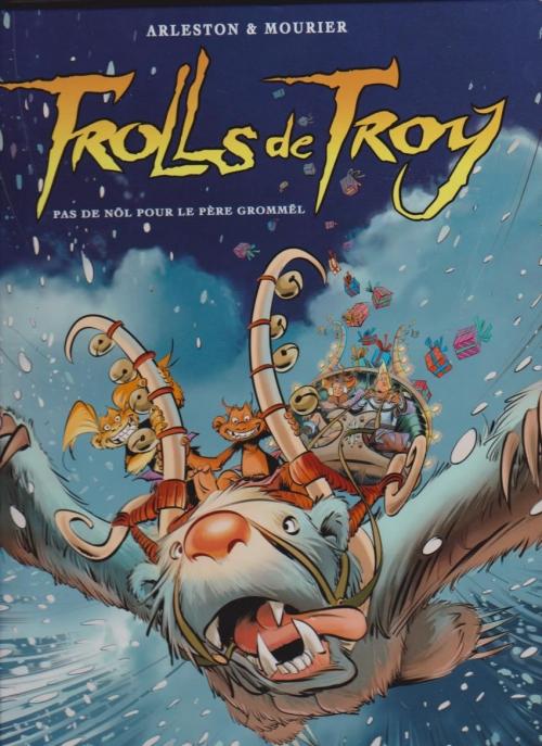 Couverture Trolls de Troy, tome 19 : Pas de Nöl pour le père Grommël