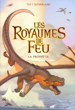 Couverture Les Royaumes de Feu, tome 01 : La Prophétie