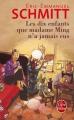 Couverture Les dix enfants que madame Ming n'a jamais eus Editions Le Livre de Poche 2015