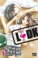 Couverture L-DK, tome 01 Editions Pika (Shôjo) 2015