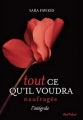 Couverture Tout ce qu'il voudra, intégrale, tome 2 : Naufragée Editions Marabout (Red Velvet) 2014