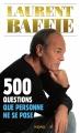 Couverture 500 questions que personne ne se pose Editions Kero 2014