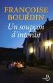 Couverture Sans regrets, tome 2 : Un soupçon d'interdit Editions VDB 2011