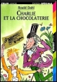 Couverture Charlie et la chocolaterie Editions Folio  (Junior - Edition spéciale) 1997