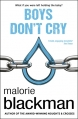 Couverture Boys don't cry, tome 1 Editions Corgi 2014