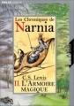 Couverture Les Chroniques de Narnia, tome 2 : Le Lion, la sorcière blanche et l'armoire magique Editions Folio  (Junior) 2001