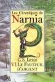 Couverture Les Chroniques de Narnia, tome 6 : Le Fauteuil d'argent Editions Folio  (Junior) 2002