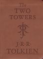 Couverture Le Seigneur des Anneaux, tome 2 : Les deux tours Editions Houghton Mifflin Harcourt 2014