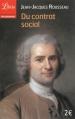 Couverture Du contrat social Editions Librio (Philosophie) 2013