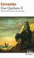 Couverture Don Quichotte, tome 2 Editions Folio  (Classique) 2010