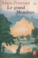 Couverture Le Grand Meaulnes Editions Le Livre de Poche (Jeunesse) 1989