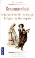 Couverture Le barbier de Séville, Le mariage de Figaro, La mère coupable Editions Pocket (Classiques) 2010
