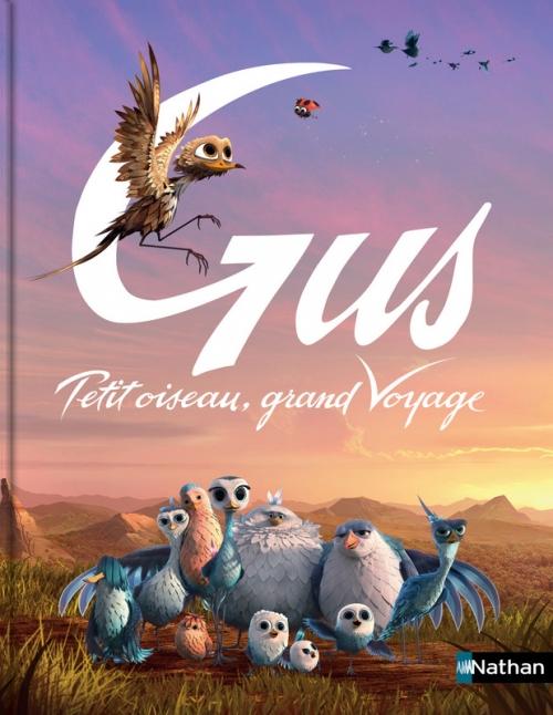 Couverture Gus, petit oiseau, grand voyage : Le petit album