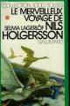 Couverture Le merveilleux voyage de Nils Holgersson à travers la Suède Editions Gallimard  (1000 soleils) 1975