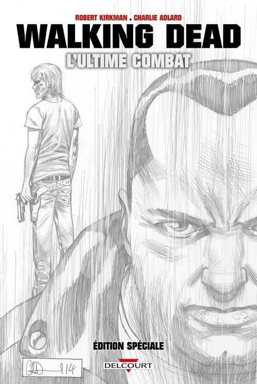 Couverture Walking Dead : L'ultime combat