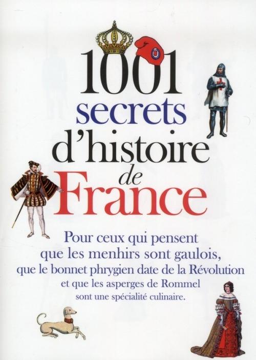 Couverture 1001 secrets d'histoire de France