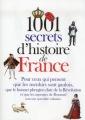 Couverture 1001 secrets d'histoire de France Editions Prat (1001 secrets) 2012