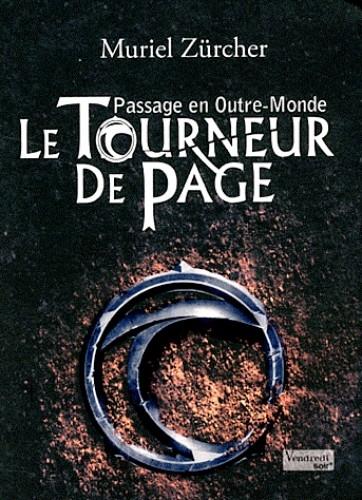 Couverture Le tourneur de page, tome 1 : Passage en outre-monde