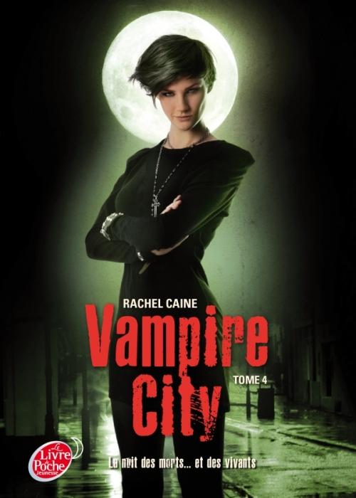 Couverture Vampire City, tome 04 : La fête des fous