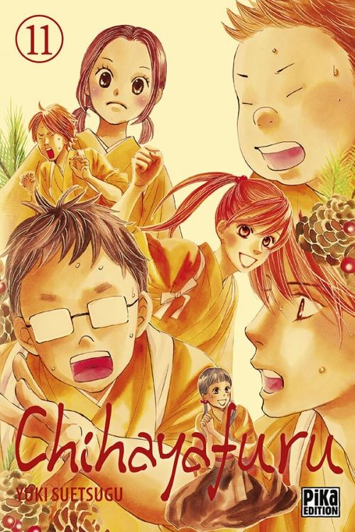 Couverture Chihayafuru, tome 11