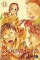 Couverture Chihayafuru, tome 11 Editions Pika (Shôjo) 2015