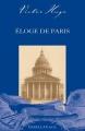 Couverture Éloge de Paris Editions Magellan & Cie 2010
