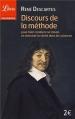 Couverture Discours de la méthode / Le discours de la méthode Editions Librio (Philosophie) 2013