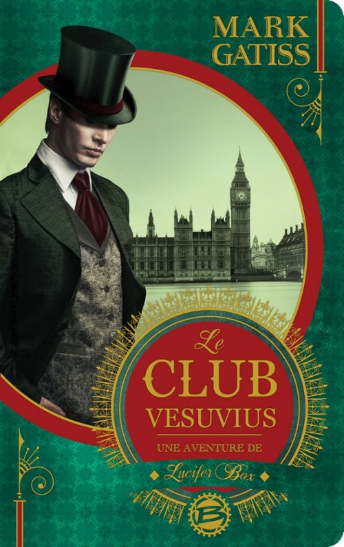 Couverture Lucifer Box, tome 1 : Le Club Vesuvius