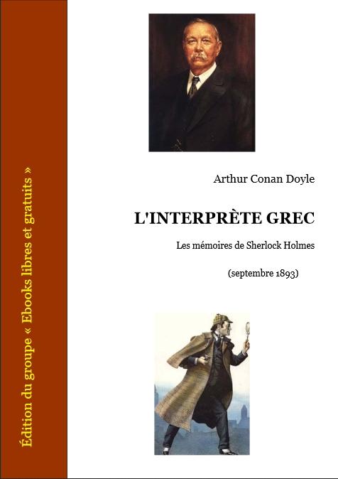 Couverture L'interprète grec
