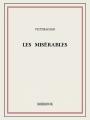Couverture Les misérables Editions Bibebook 2013