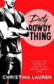 Couverture Wild seasons, tome 2 : Dirty rowdy thing Editions Gallery Books 2014