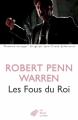 Couverture Tous les hommes du roi / Les fous du roi Editions Les belles lettres 2015