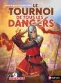 Couverture Le tournoi de tous les dangers Editions Nathan 2015